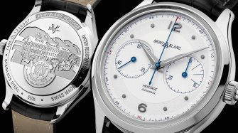 Montblanc Heritage Monopusher Chronograph Trends and style