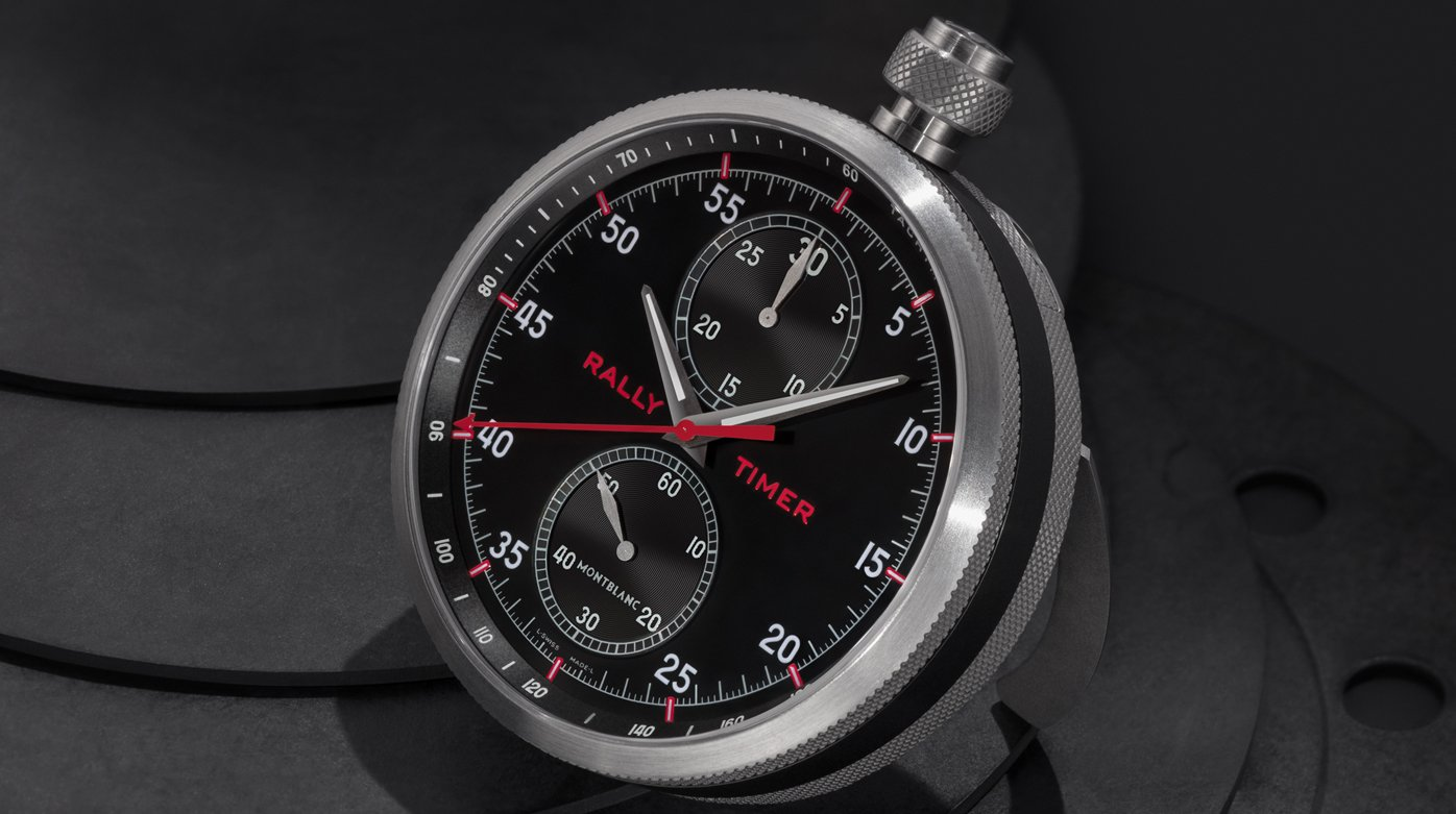 Montblanc - TimeWalker Chronograph Rally Timer Counter