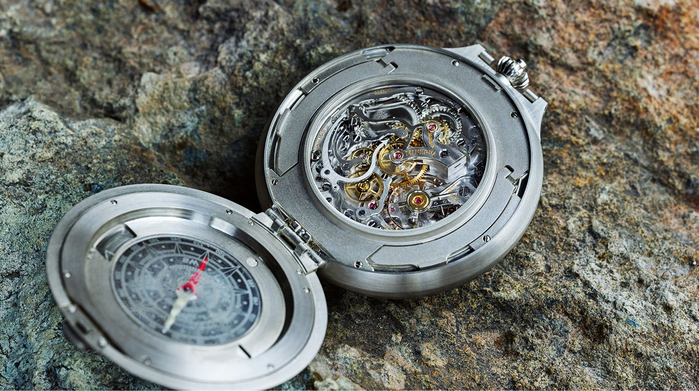 Montblanc - 1858 Pocket Watch