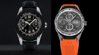 Montblanc Summit vs TAG Heuer Connected Modular 45 Innovation and technology