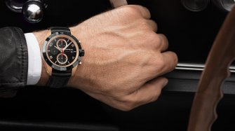 Montblanc TimeWalker Chronograph Automatic, red gold  and black ceramic