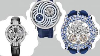 Three Thrilling High-Jeweled Watches From 2020 Trends and style