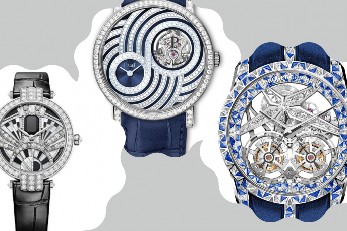 Three Thrilling High-Jeweled Watches From 2020