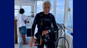 Luc Latapie and his Omega Seamaster People and interviews