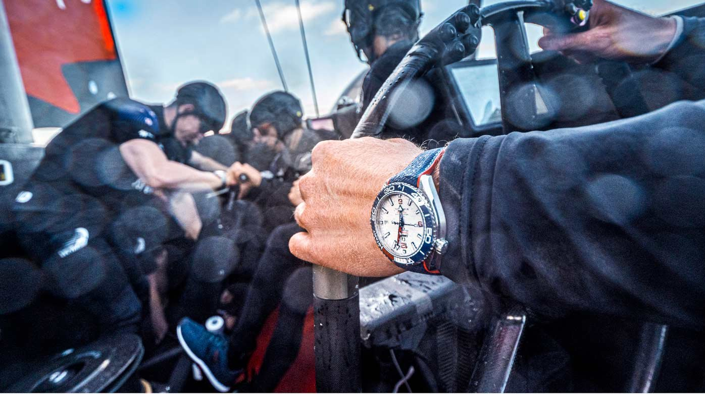 Omega - Official Timekeeper of the 36th America's Cup