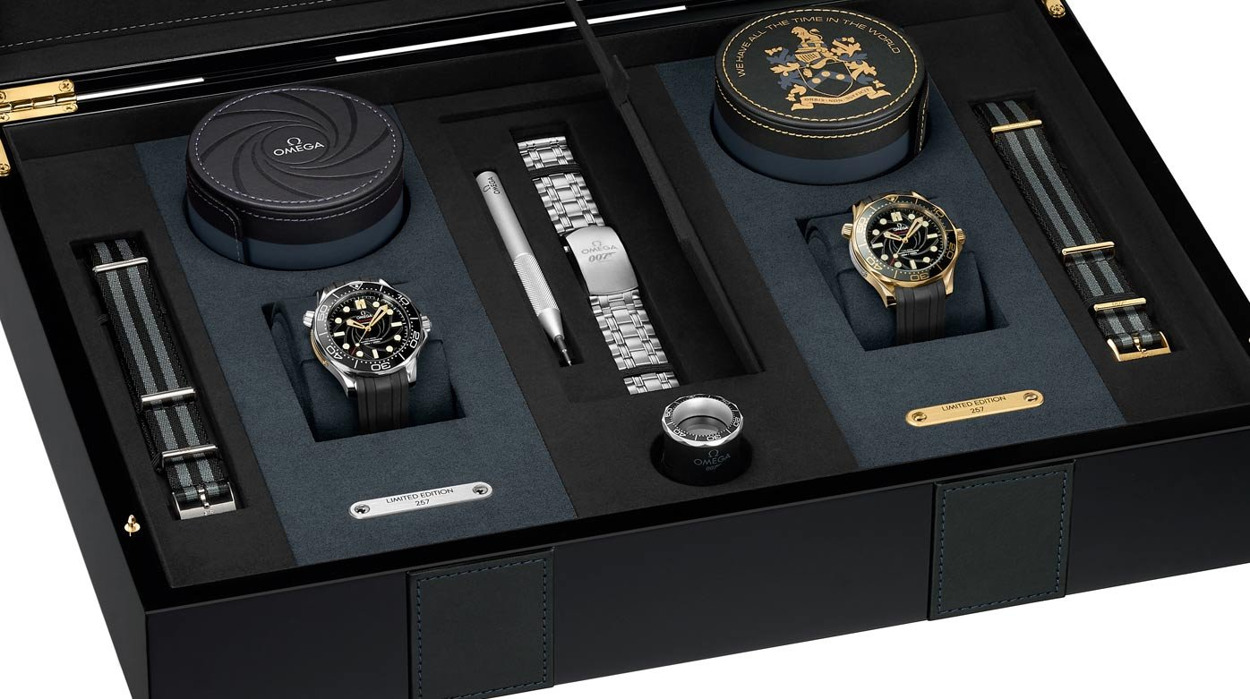Omega - James Bond Limited Edition Set