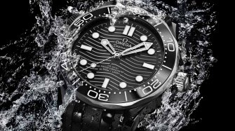 Seamaster Diver 300m ceramic and titanium Trends and style