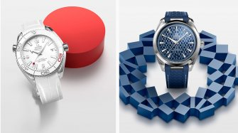 Two timepieces for the Olympic Games Tokyo 2020 Trends and style
