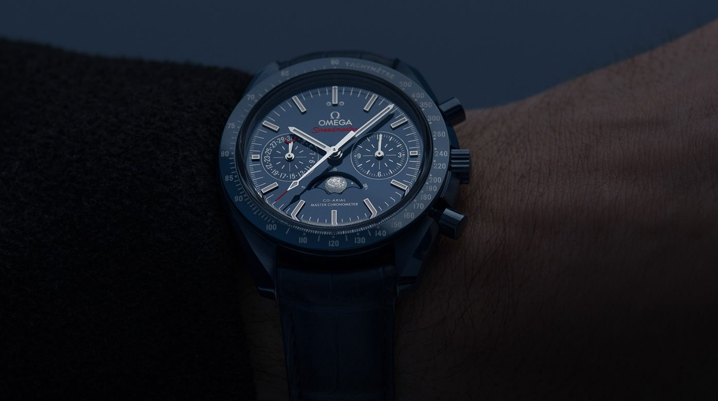 Why not...? - Blue and the Omega Speedmaster Blue Side of the Moon