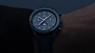 Blue and the Omega Speedmaster Blue Side of the Moon Trends and style