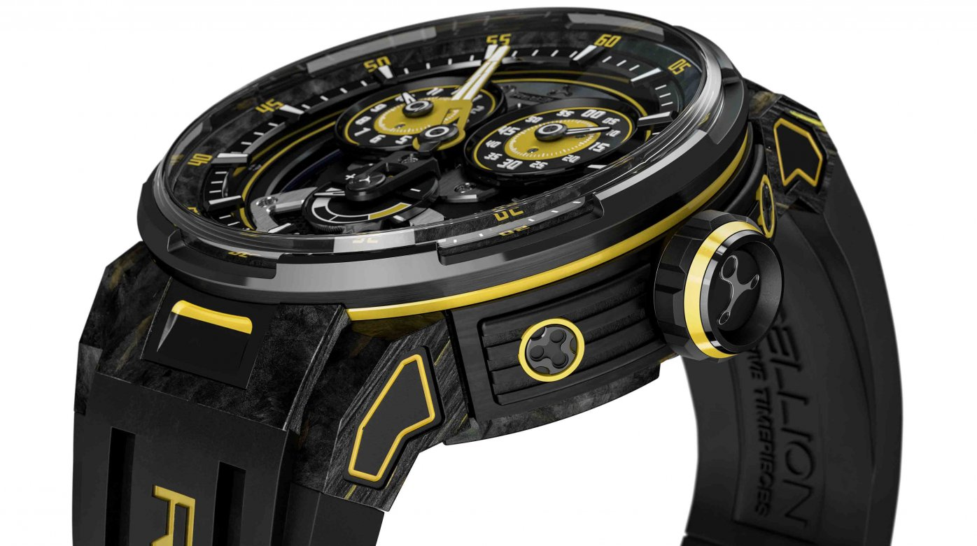 Rebellion - Predator 2.0 Regulator Power Reserve Sébastien Buemi Edition pour Only Watch