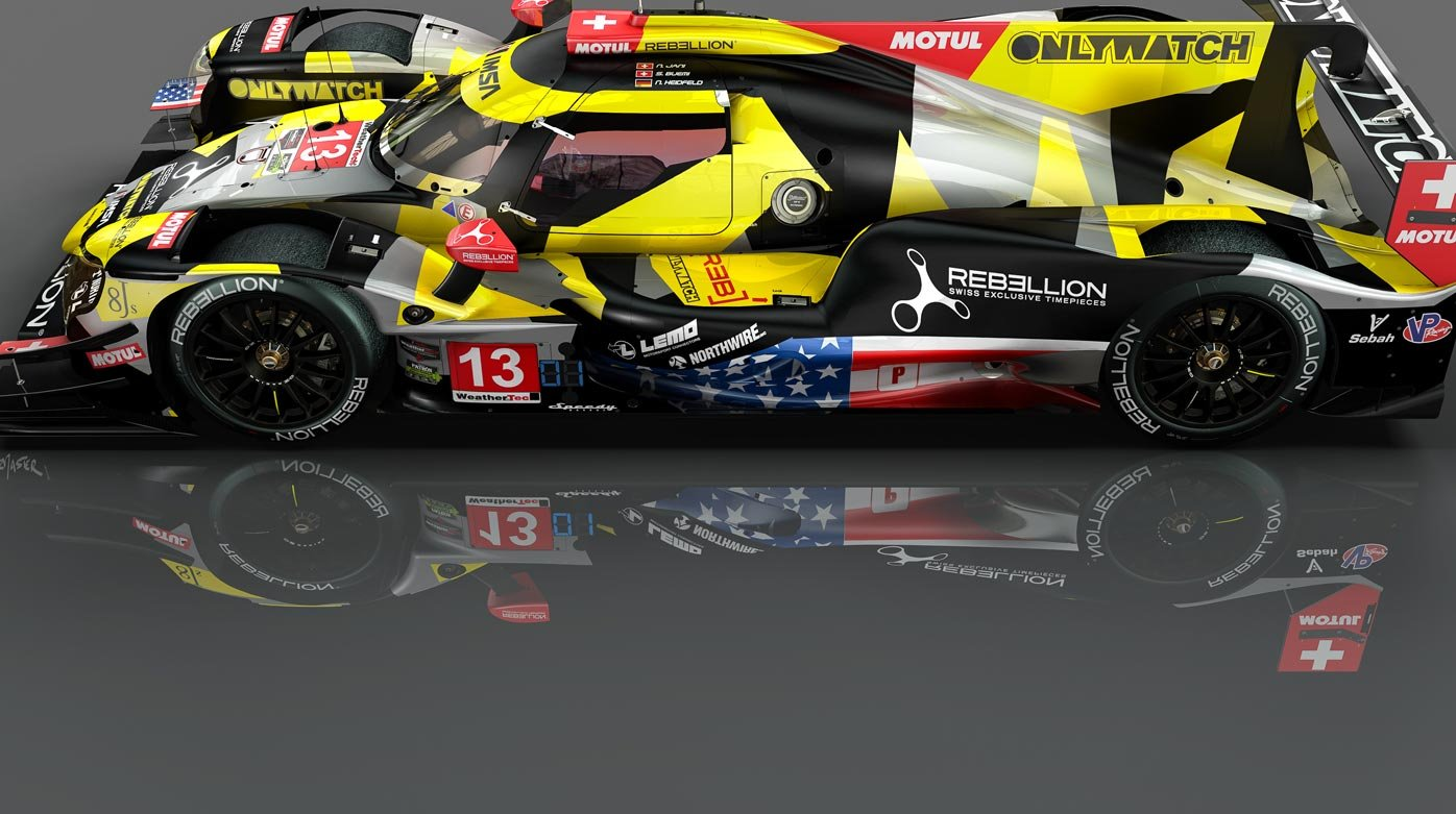 Rebellion - A new crew and new livery for the Petit Le Mans