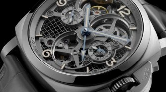 Lo Scienziato - Luminor 1950 Tourbillon GMT Titanio (PAM00578)