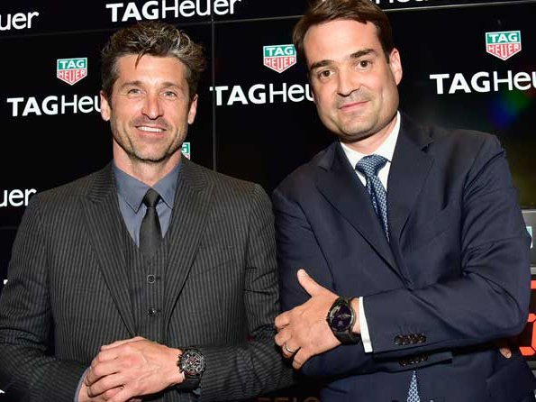 TAG Heuer - Patrick Dempsey presents two new limited-edition Indy500 watches at TimeCrafters 2016