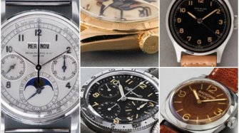 Patek, Rolex and the others Auctions and vintage