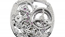 Emperador Coussin Tourbillon Automatic diamond-set automatic skeleton exceptional piece