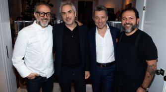 A private dinner in honour of Alfonso Cuarón Arts and culture