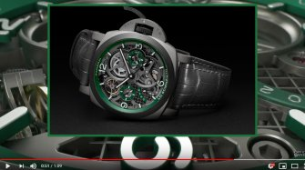 Luminor Tourbillon GMT – Lo Scienziato  Innovation and technology