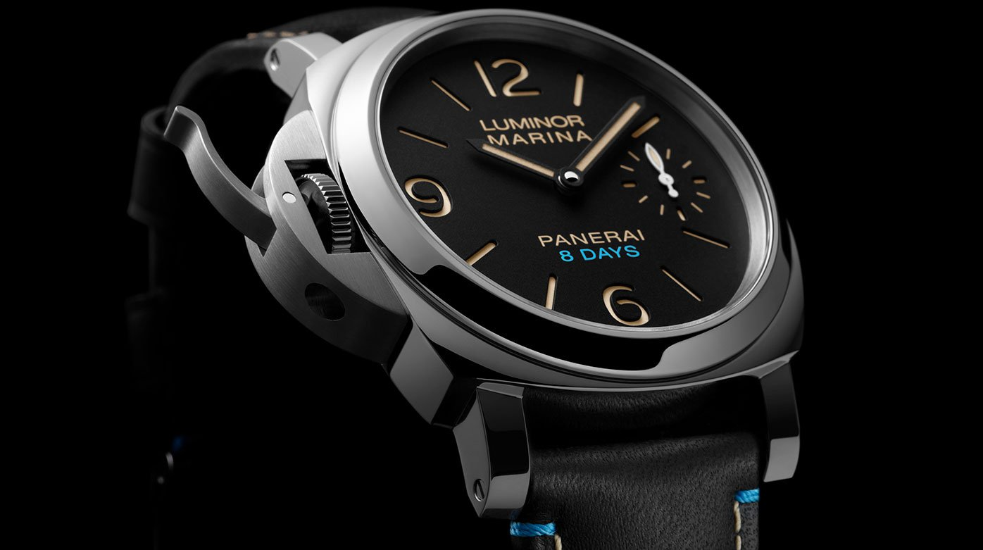 Panerai - Un trio Luminor 8 Days