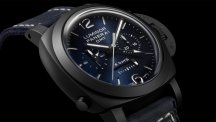 Luminor Chrono Monopulsante GMT Blu Notte