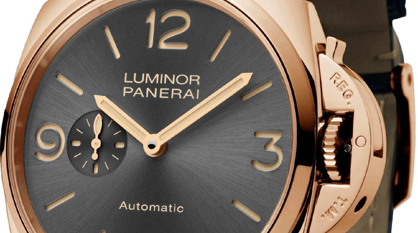 Panerai - Cortina Watch and its 45th anniversary Panerai Luminor Due
