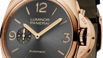 Cortina Watch and its 45th anniversary Panerai Luminor Due Trends and style