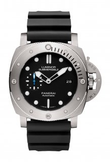 PAM01305 - Luminor Submersible 1950 3 Days Automatic Titanio - 47 mm
