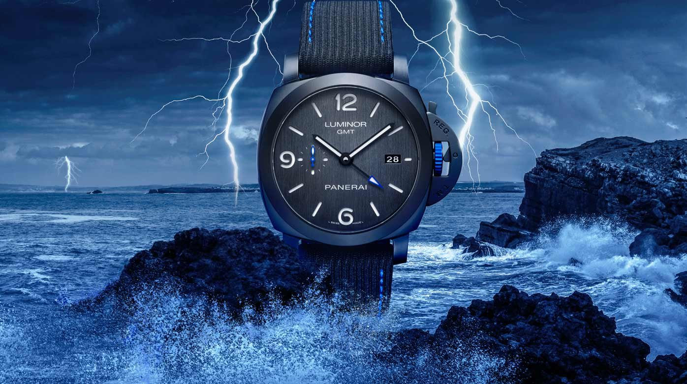 Panerai X Bucherer - Luminor GMT Bucherer Blue