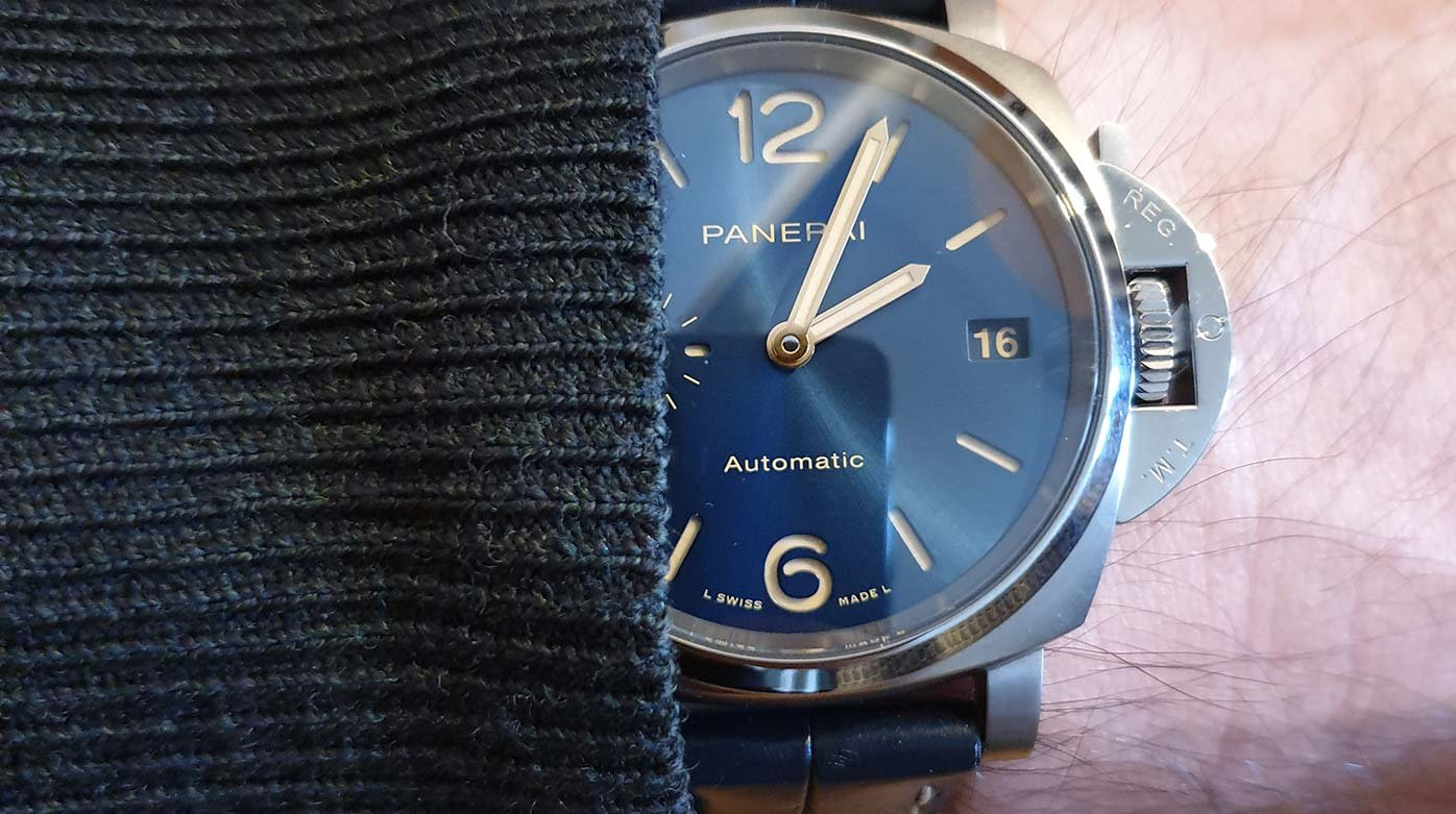 Panerai - Panerai Luminor Due 38mm aka PAM926: Playing Against Type