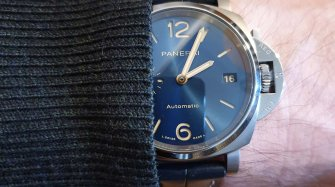 Panerai Luminor Due 38mm aka PAM926: Playing Against Type Trends and style