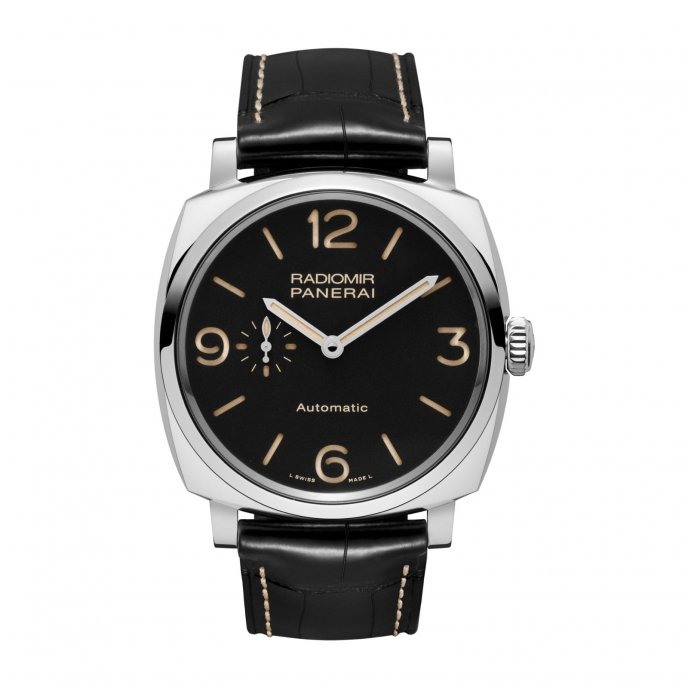 Panerai Radiomir 1940 3 Days Automatic Acciaio  45 mm PAM00572 watch-face-view