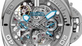 Submersible EcoPangaeaTM Tourbillon GMT - 50 mm Mike Horn Edition