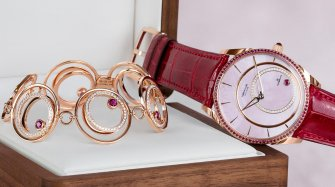 A limited-edition Tonda 1950 inspired by the inclusions in a ruby Trends and style