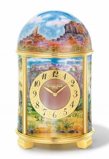Dome Table Clock - The Gold Seekers