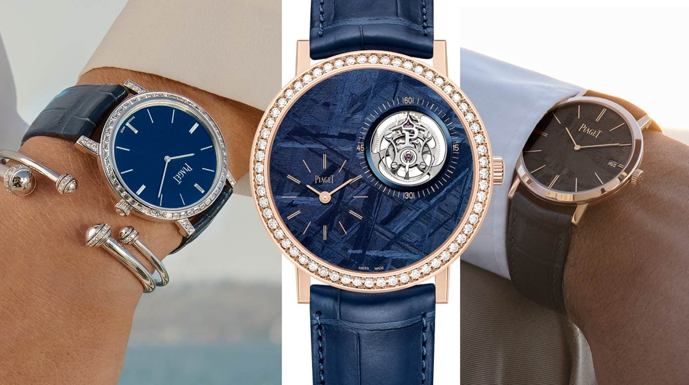 Piaget - Three new Altiplano watches