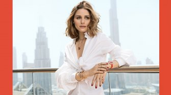 Possesion look by Olivia Palermo