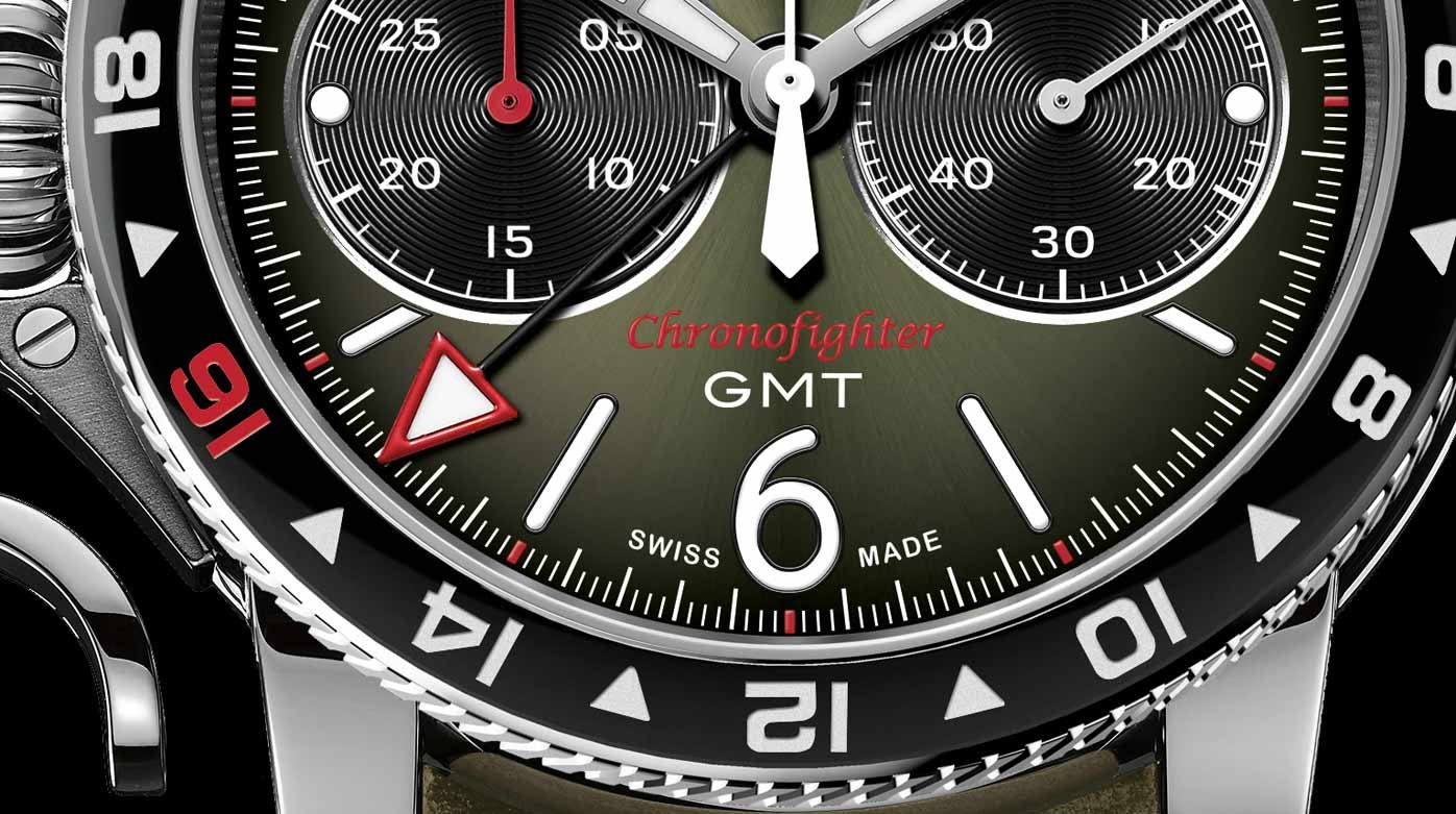 Graham - Graham Chronofighter Vintage GMT, pièce unique
