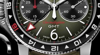 Unique piece Graham Chronofighter Vintage GMT Trends and style
