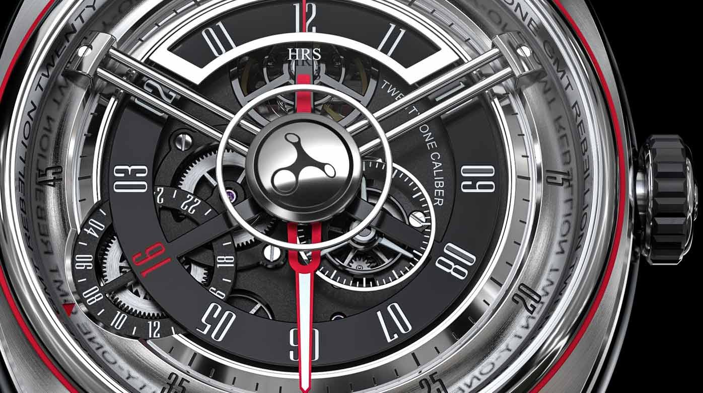 Rebellion - Twenty-One GMT automatique pièce unique