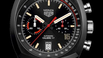TAG Heuer Monza Calibre 17, unique piece Trends and style