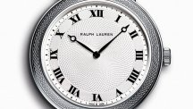 Slim Classic 32 mm, white gold