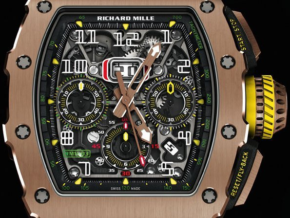 Richard Mille - RM11-03 pivotal evolution