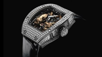 Tourbillon RM 51-01 Tiger and Dragon-Michelle Yeoh Innovation and technology
