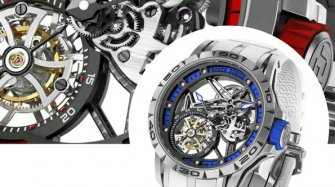 Excalibur Spider Flying Tourbillon Innovation and technology