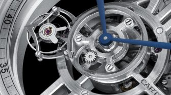 Rotonde Astrotourbillon Skeleton, calibre 9461 MC