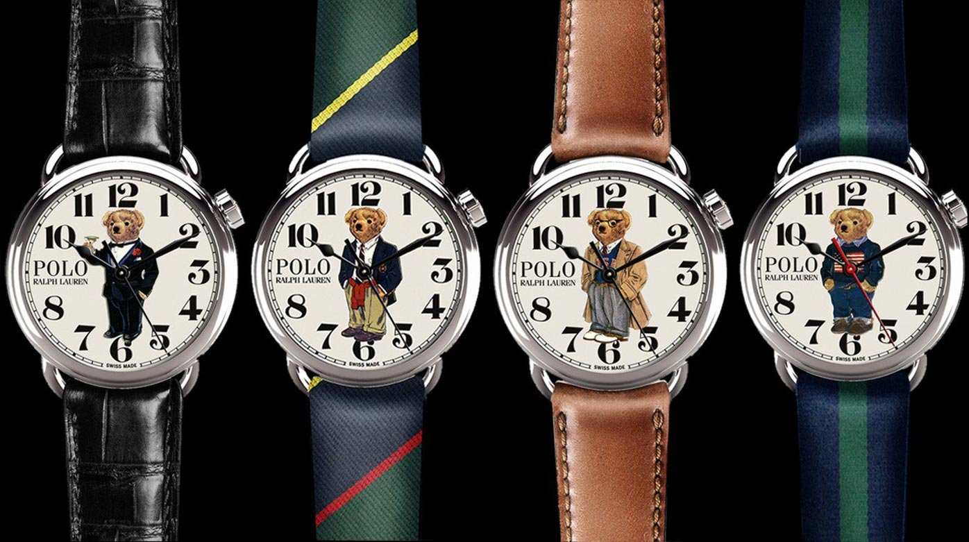 Why not...? - Childhood and the Ralph Lauren Polo Bear watches