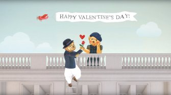 Vidéo. Happy Valentine's Day From Ralph Lauren  Art et culture