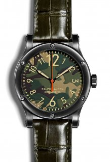 RL67 Safari Chronometer - Camo dial - 45 mm