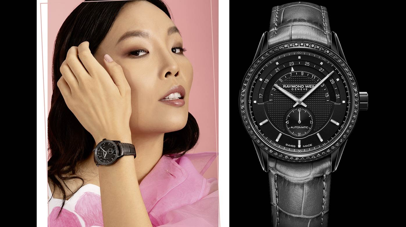 Raymond Weil - Lady Freelancer Black Diamond