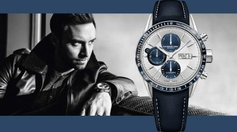 Blue Freelancer Chronograph Trends and style